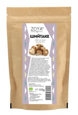 Шийтаке гъби на прах Био Zoya, 125гр. - Zoya
