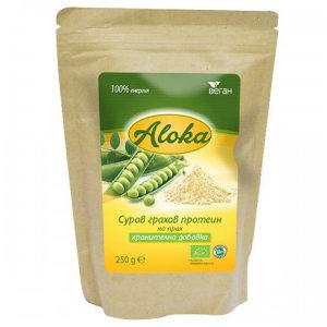 Грахов протеин на прах суров Био Aloka, 250 гр. - Aloka