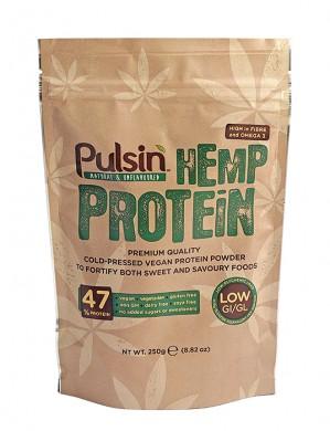 Суров конопен протеин Pulsin, 250гр. - Pulsin