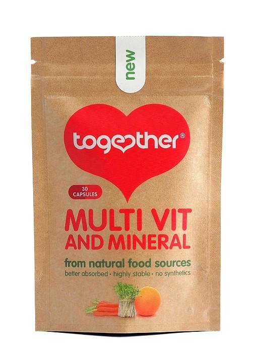 Мултивитамини и минерали Together Health, 30бр. - Together Health