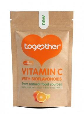 Витамин С с биофлавоноиди Together Health, 30бр. - Together Health