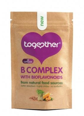 Витамин В комплекс с биофлавоноиди Together Health, 30бр. - Together Health