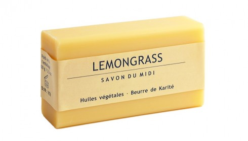 Сапун лимонова трева и карите  Savon Du Midi, 100гр. - Savon Du Midi