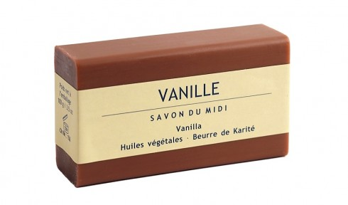 Сапун с аромат на ванилия Savon Du Midi, 100гр. - Savon Du Midi