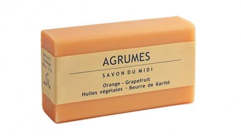 Сапун грейпфрут и масло от карите Savon Du Midi, 100гр. - Savon Du Midi