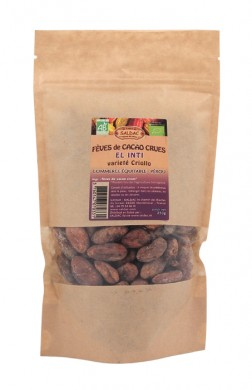 Сурови какаови зърна Био Saldac, 250гр. - Saldac