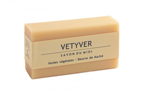 Сапун с аромат на ветивер Savon Du Midi, 100гр. - Savon Du Midi