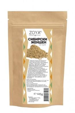 Сибирски женшен Био Zoya, 125гр. - Zoya