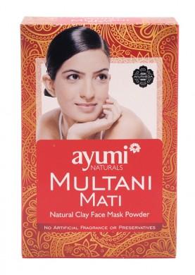 Глинена маска за лице Multani Mati AyumiNaturals, 100гр. -