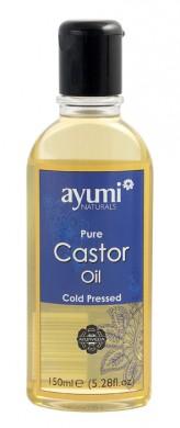 Чисто рициново масло AyumiNaturals, 150мл. - Ayumi Naturals