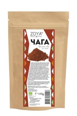 Чага брезова гъба на прах Био Zoya, 125 гр. - Zoya