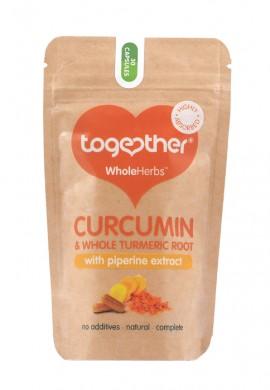 Куркумин с екстракт от пиперин Together Health, 30бр. - Together Health