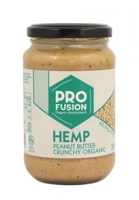Фъстъчено масло с конопени семена Био Pro Fusion, 350гр. - Pro Fusion Organic