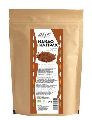 Какао на прах сурово Био Zoya, 125 гр. - Zoya
