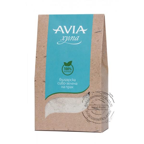 Сиво зелена хума на прах (натурална) Avia, 250гр. - Avia