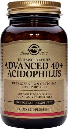 Ацидофилус 40 плюс напреднал Solgar, 60бр. - Solgar