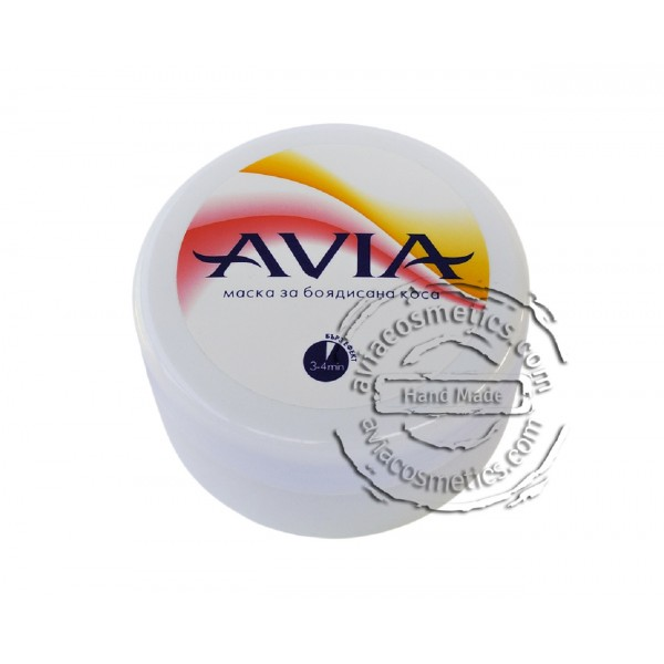 Маска Боядисана коса с масло от жожоба AVIA , 250мл. - Avia