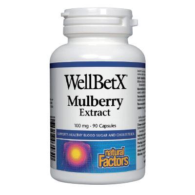 Бяла черница 100 мг. Natural Factors, 90 бр. - Natural Factors