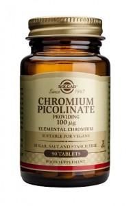 Chromium picolinate_100μg_90 tabs