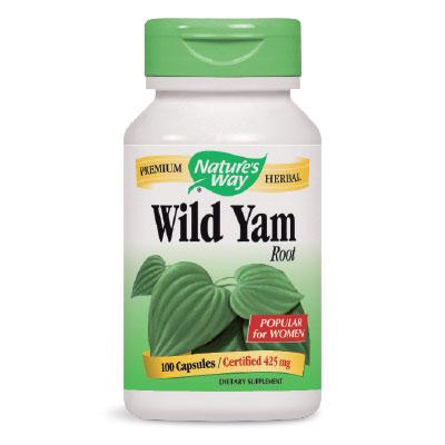 Див Ям / Диоскорея (корен) 425 мг. Nature's Way,  100бр. - Nature's Way