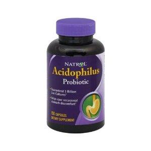 Ацидофилус пробиотик 100мг. Natrol, 150бр. - Natrol