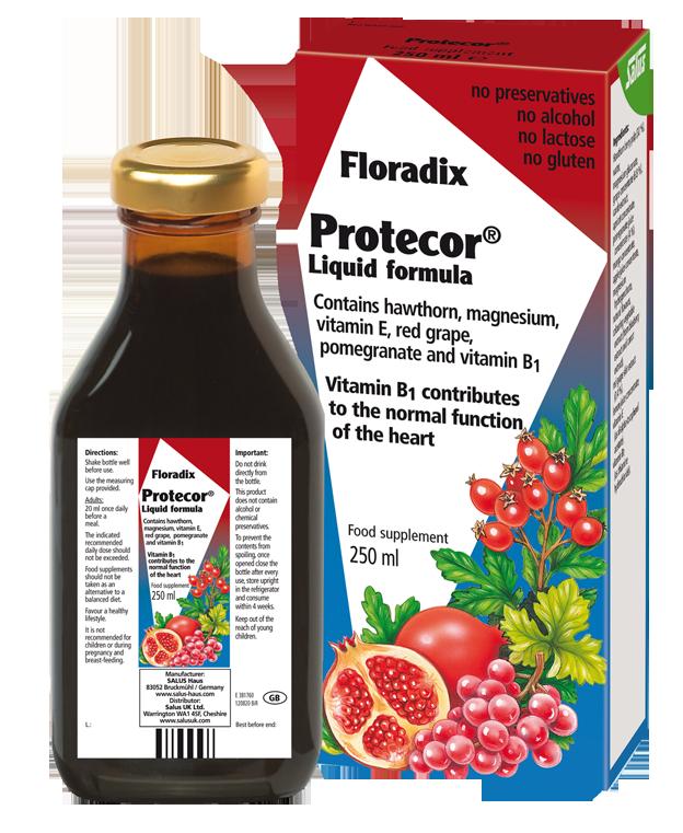Защита за сърцето Floradix,  250мл. - Floradix