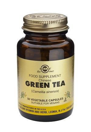 Зелен чай, Solgar, 50бр. - Solgar