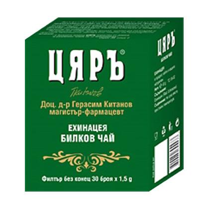 Билков чай Цяръ Ехинацея 30бр. - Цяръ