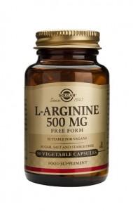 L-arginine 500mg_50 veg. caps
