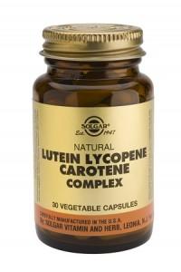 Lutein lycopene carotene complex_30 veg. caps