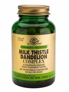 Milk thistle_Dandelion complex_50 veg. caps