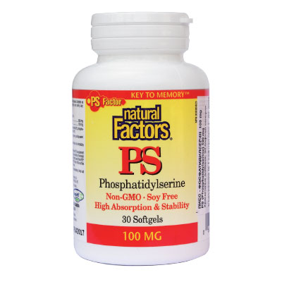 ПиЕс-Фосфатидил Серин 100 мг. Natural Factors,  30 бр. - Natural Factors