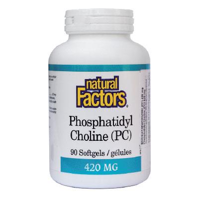 ФосфатидилХолин 420мг. Natural Factors,  90 бр. - Natural Factors