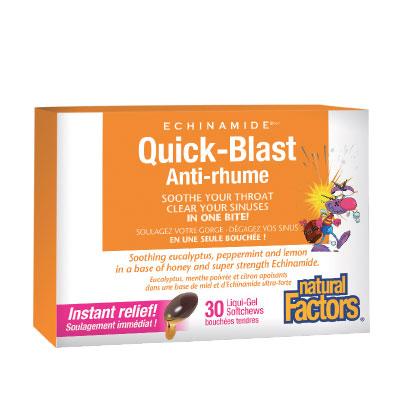 Куик-Бласт 85 мг. Natural Factors, 30 бр. - Natural Factors