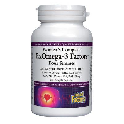 Омега фактор за жени 1035мг. Natural Factors,  60 бр. - Natural Factors
