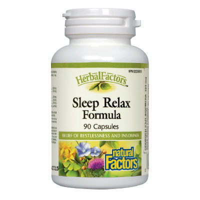Спокоен сън формула 325мг. Natural Factors,  90 бр. - Natural Factors