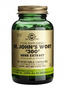 St. John's Wort herb extract_300mg_50 veg. caps