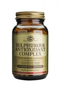 Sulphurous antioxidant complex_90 veg. caps