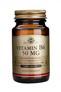 Vitamin B6_50mg_100 tabs