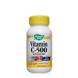 Витамин С и Шипка 500 мг. Nature's Way, 100 бр. - Nature's Way