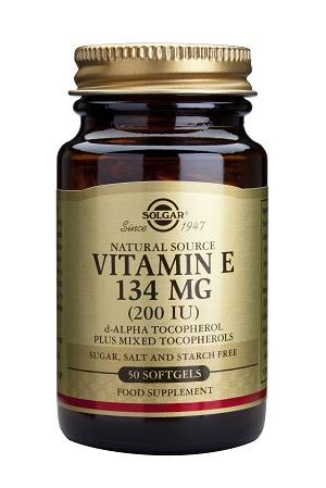 Витамин E 200IU. Solgar, 50 бр. - Solgar