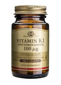 Vitamin K1_100μg_100 tabs