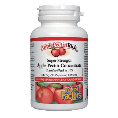 Ябълков Пектин Супер концентрат 500 мг. Natural Factors,  90 бр. - Natural Factors