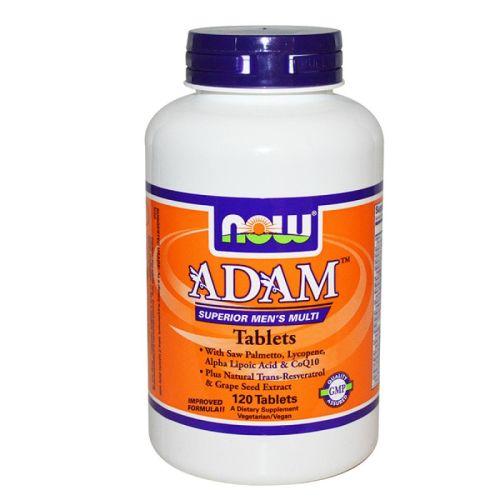 Мъжки витамини Adam Now, 120бр. - Now
