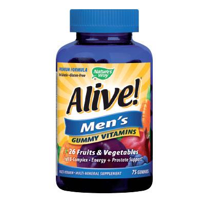 Alive! / Алайв мултивитамини за Мъже 100мг. Nature's Way,  75 бр. - Nature's Way