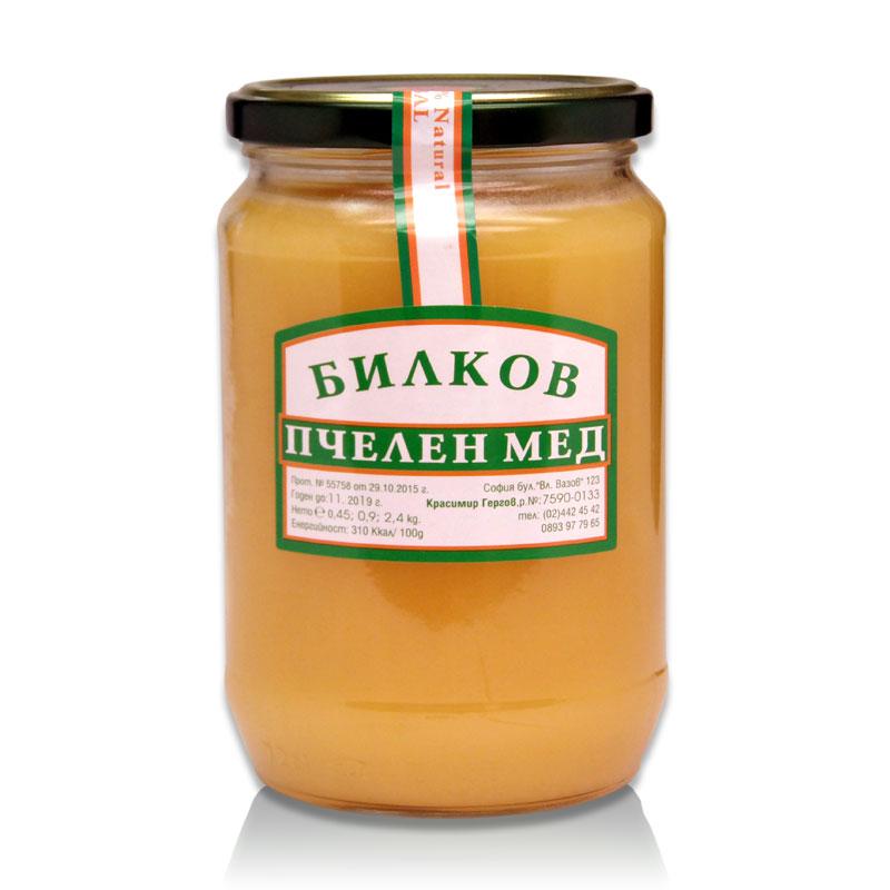 Билков мед Гергов, 900 гр. - Гергов