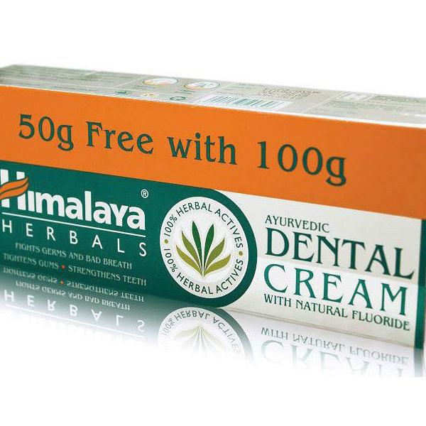Билкова паста за зъби Himalaya, 100 + 50 мл. - Himalaya