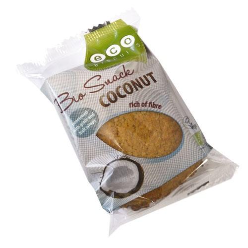 Бисквита с кокос Био Eco Biscuits ,55гр. - Eco Biscuits