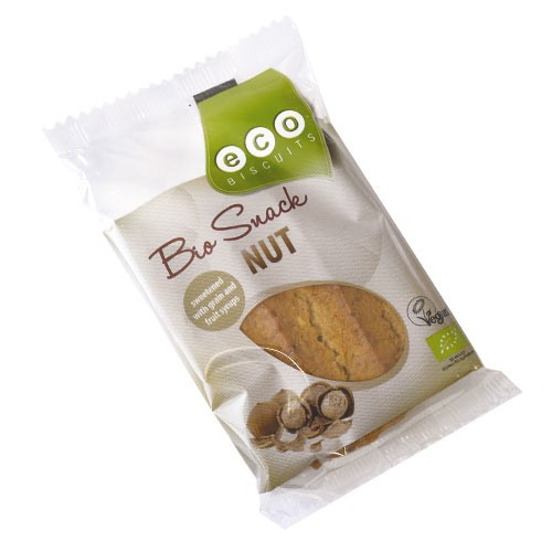 Бисквита с лешници Био Eco Biscuit , 45 гр. - Eco Biscuits