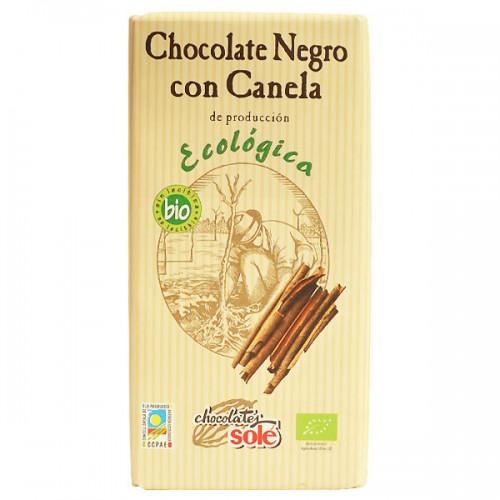 Шоколад с канела натурален Био Sole, 100 гр. - Sole